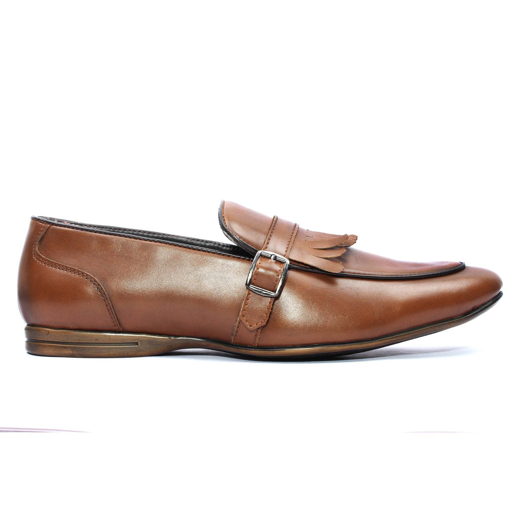 San Frissco Men Tan Slip-on