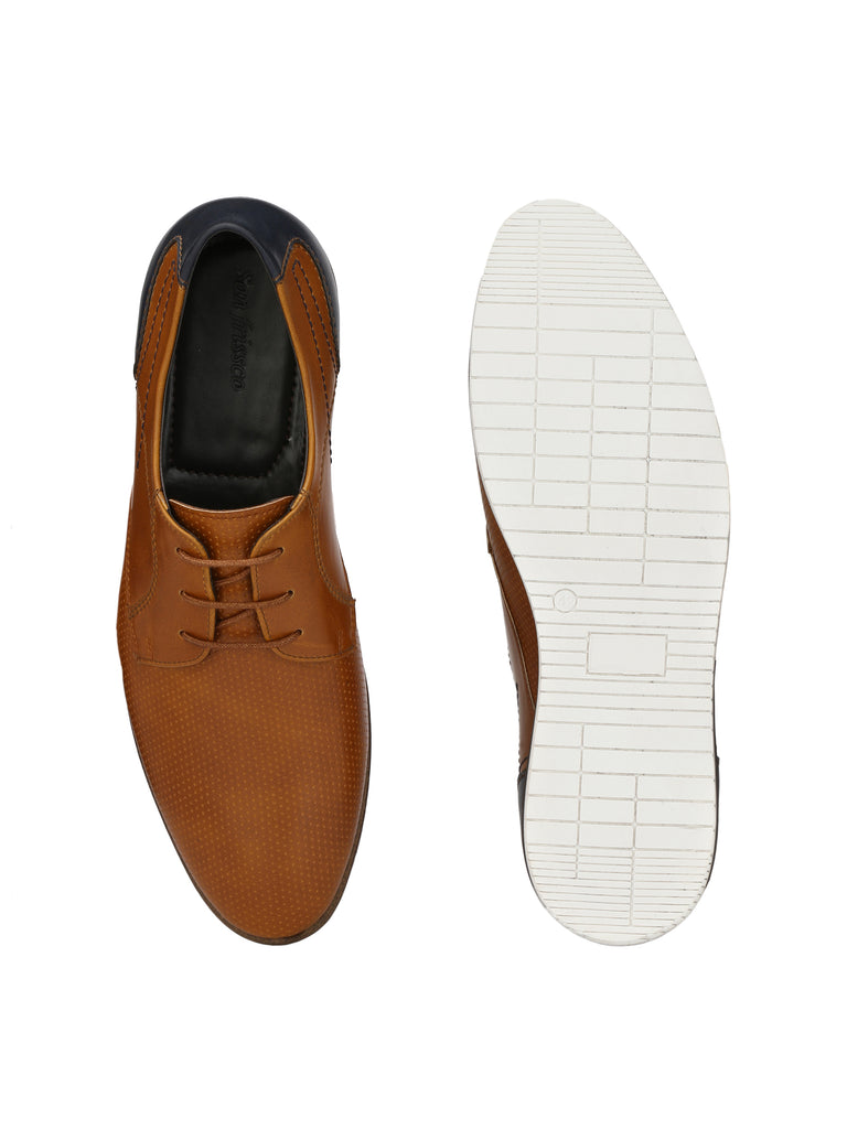 San Frissco Men's Casual Lace-Ups