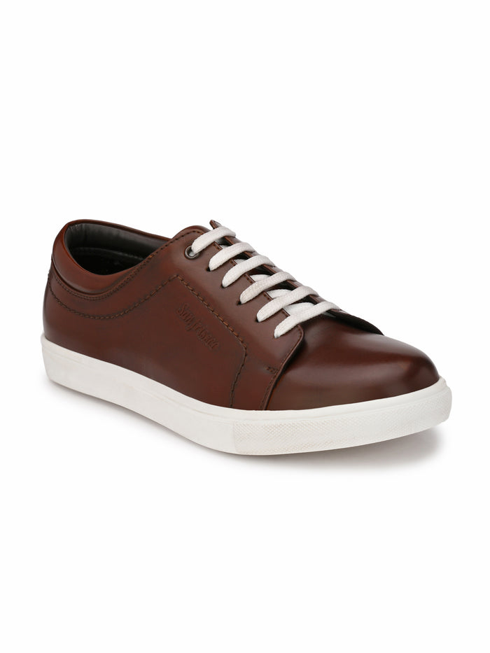 San Frissco Men's Ice Brown Sneakers