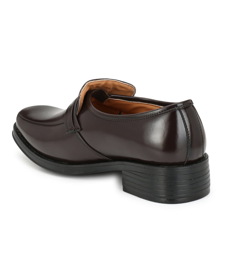 San Frissco Men's Leather Formal Slip-Ons