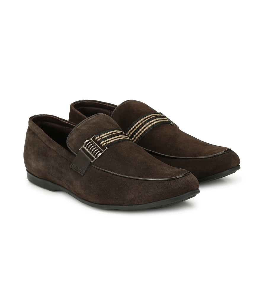 San Frissco Men's Brown Loafers
