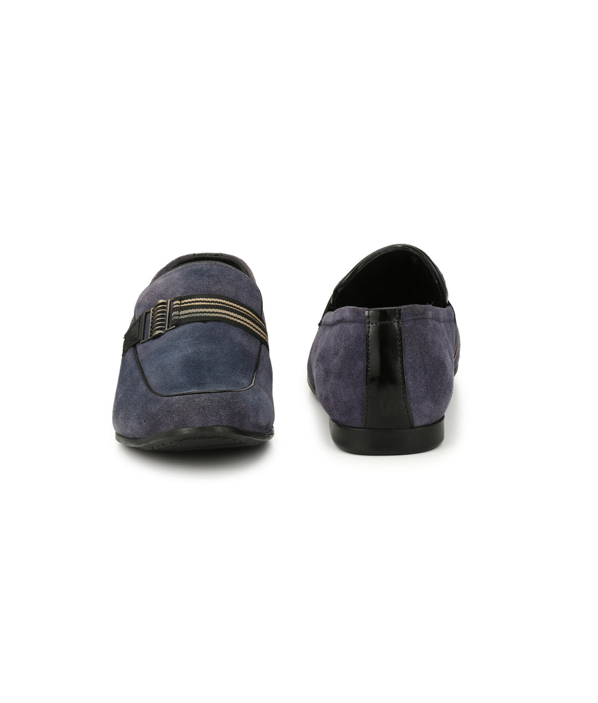 San Frissco Men's Blue Loafers