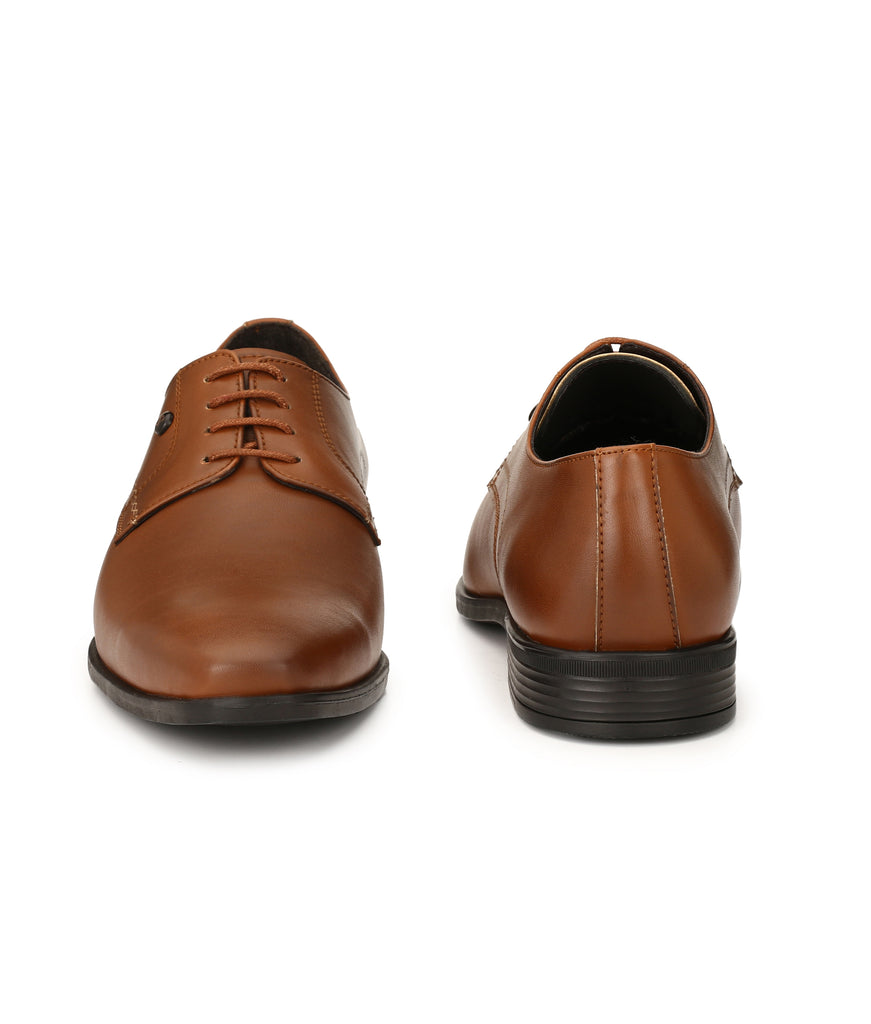 San Frissco Men's Tan Formal Lace-ups
