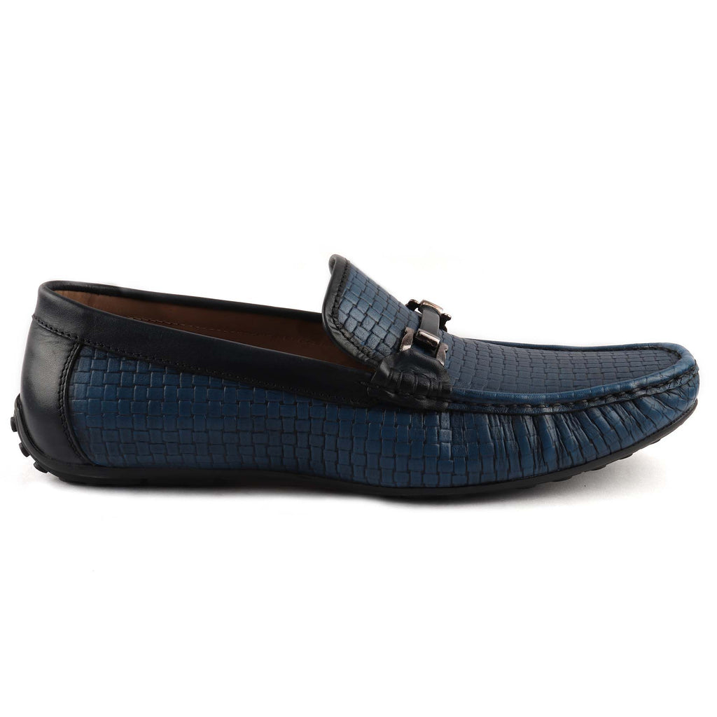 San Frissco Men's Blue Casual Loafers