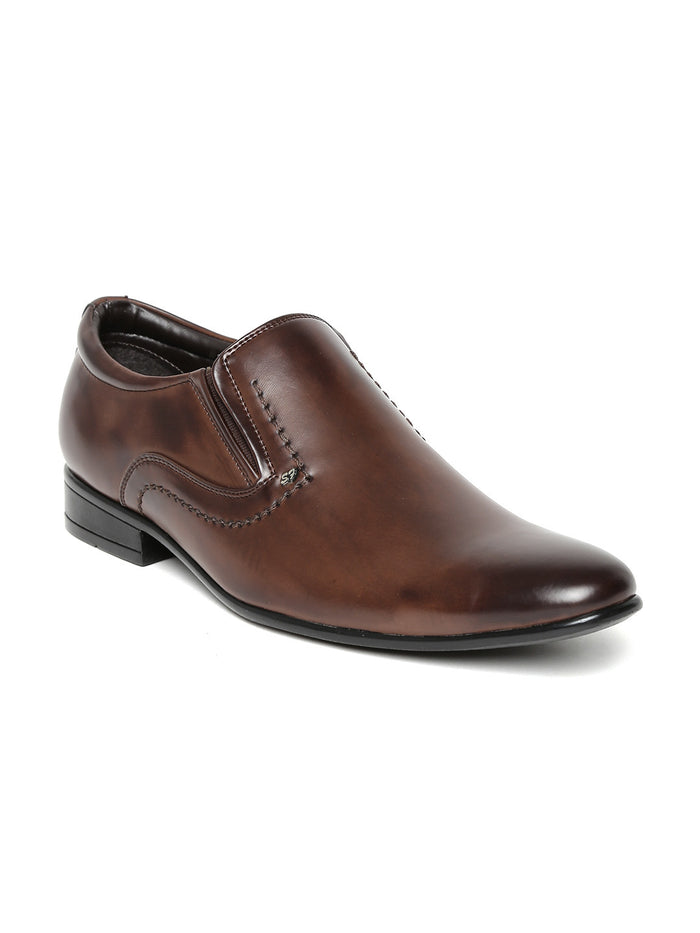 San Frissco Men Brown Formal Shoes