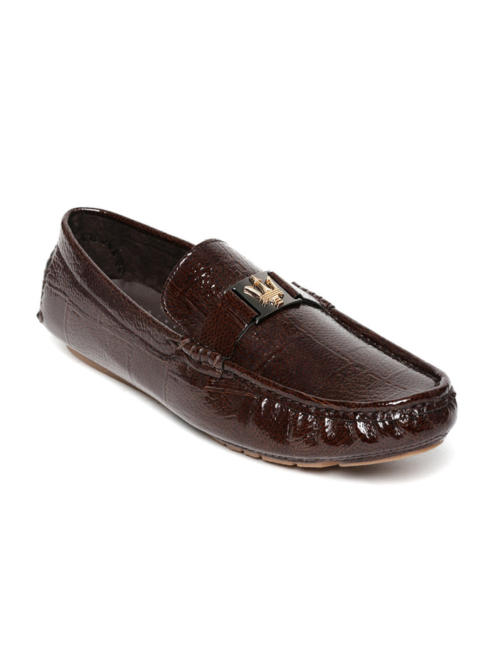 San Frissco Men Brown Loafers