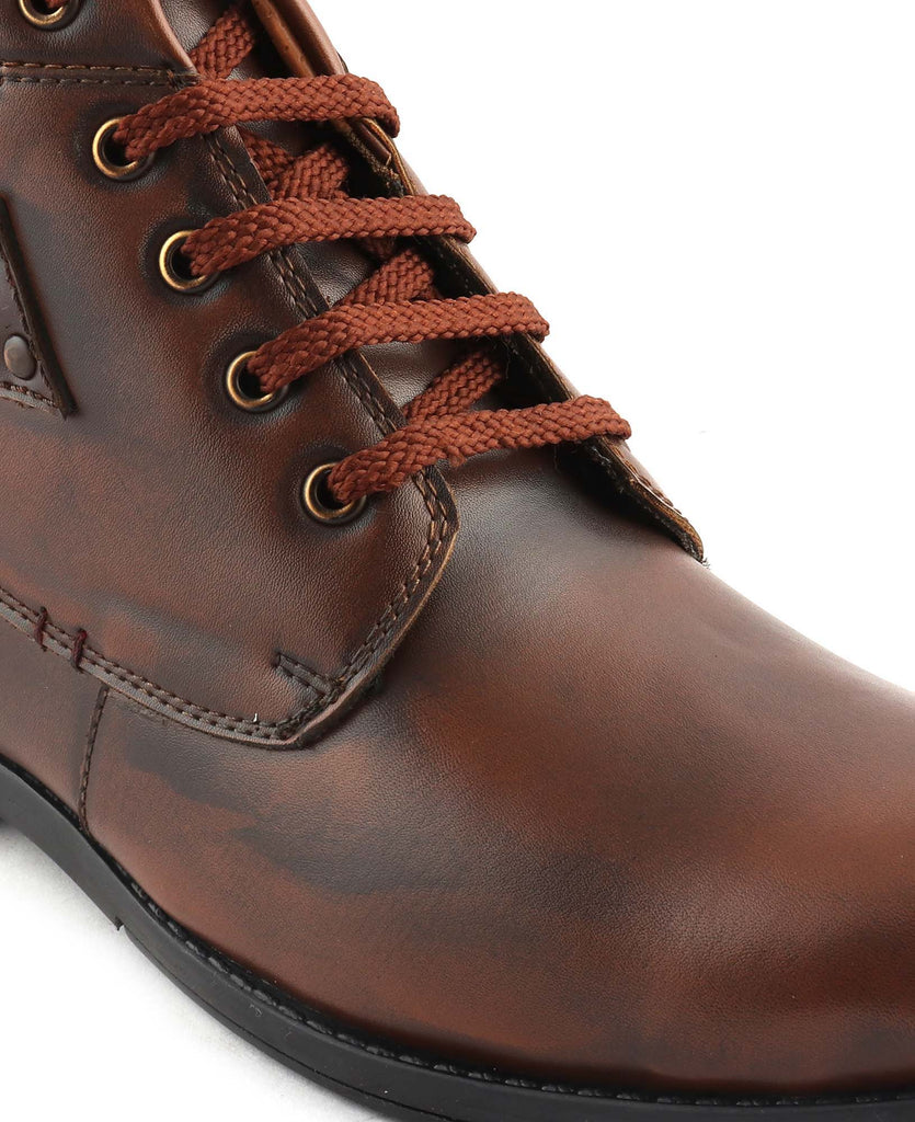San Frissco Men's Tan Casual Boots