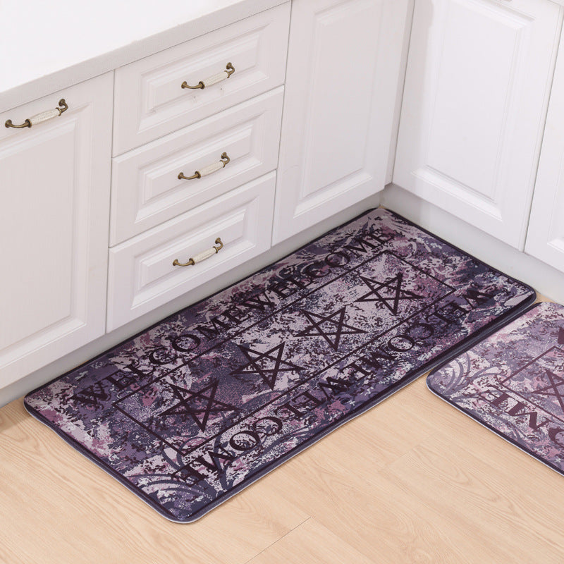 Vintage Pentagrams Area Carpet - Door Mats ... : door carpet - pezcame.com