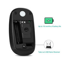 Jelly 2.4G Slim Wireless Mouse with Nano Receiver