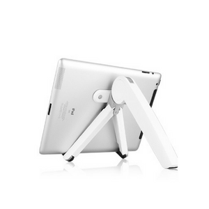 The Booster Laptop Stand - Silky White Version