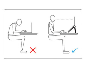 The Booster Laptop Stand Sit Straight, Boost your Productivity