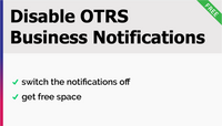 Disable OTRS Business Notification