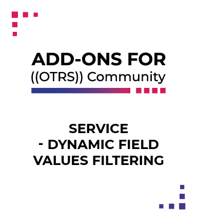 Service - Dynamic Field Values Filtering