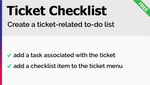Ticket Checklist Add-On