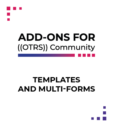 Templates and Multi-forms