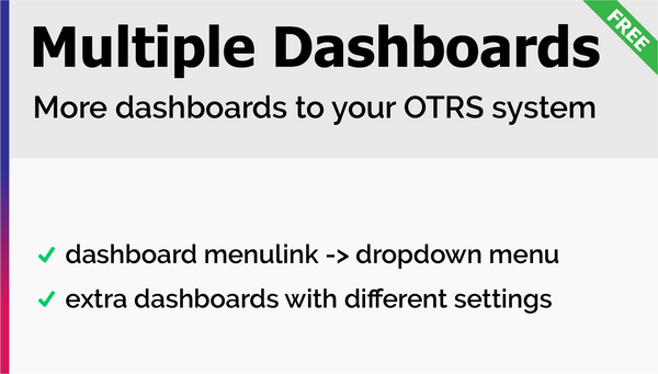 Multiple Dashboards Add-On