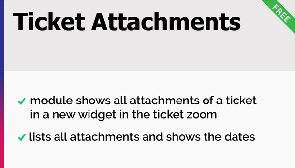 Ticket Attachments Add-On
