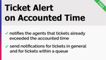 Ticket Alert On Accounted Time Add-On