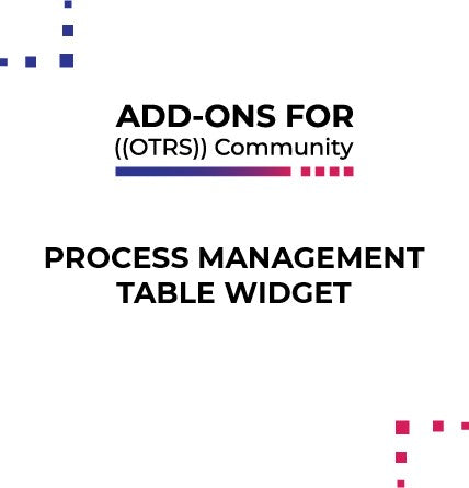 Process Tables Widget