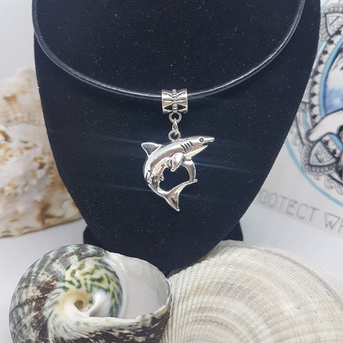 Mako Shark Pendant Necklace