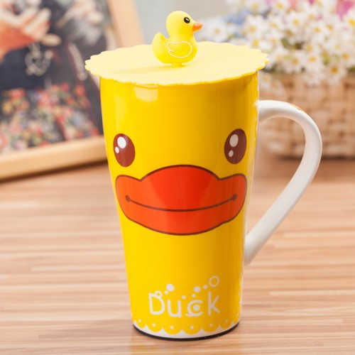 Yellow Duck Cup Cover