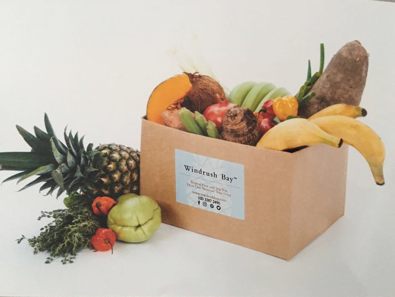 Order your tropical fruit and veg box here