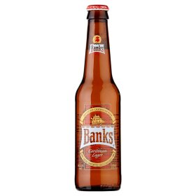 Banks Caribbean Lager 330ml