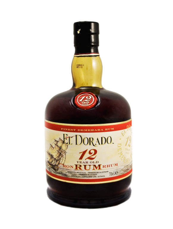 El Dorado 12 Year Old Rum 70cl