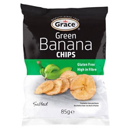 Grace Green Banana Chips 85g
