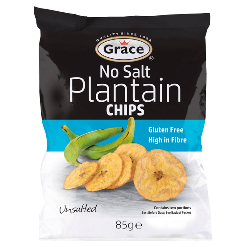 Grace Sweet No Salt  Plantain Chips 85g