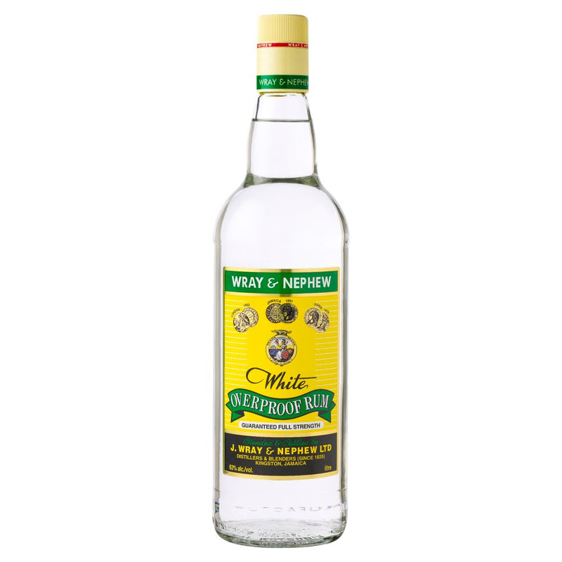 Wray and Nephew Overproof White Rum 70cl