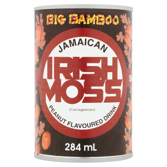 Big Bamboo Irish Moss Peanut Flavour 284ml