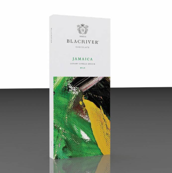 Black River Jamaica Single Origin Milk Chocolate 100g