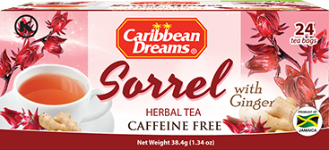 Caribbean Dreams Sorrel and Ginger Tea 38.4g