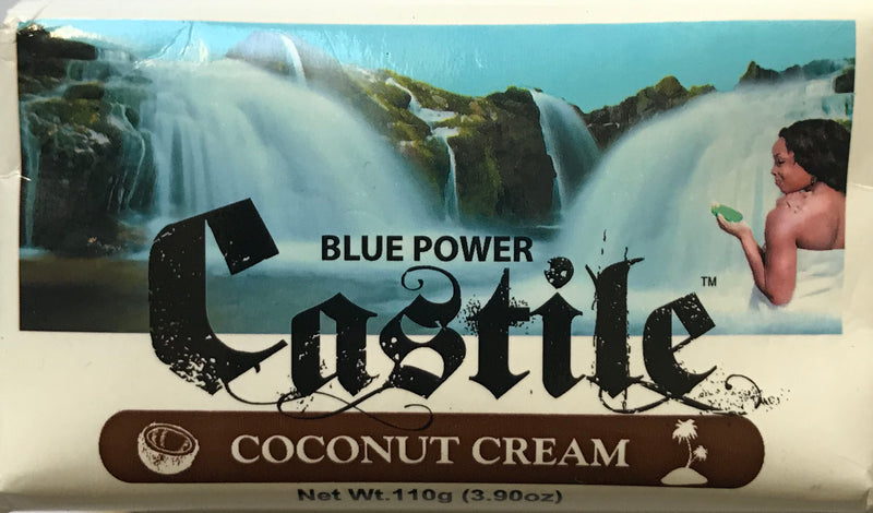 Blue Power Castile Coconut Cream Soap 110g