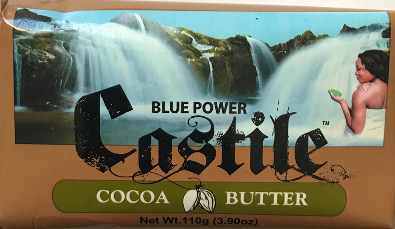 Blue Power Castile Cocoa Butter Soap 110g