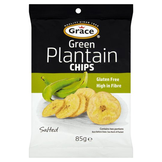 Grace Green Plantain Chips 85g