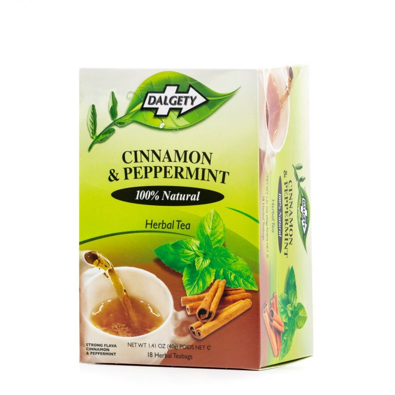 Dalgety Cinnamon and Peppermint Tea 40g