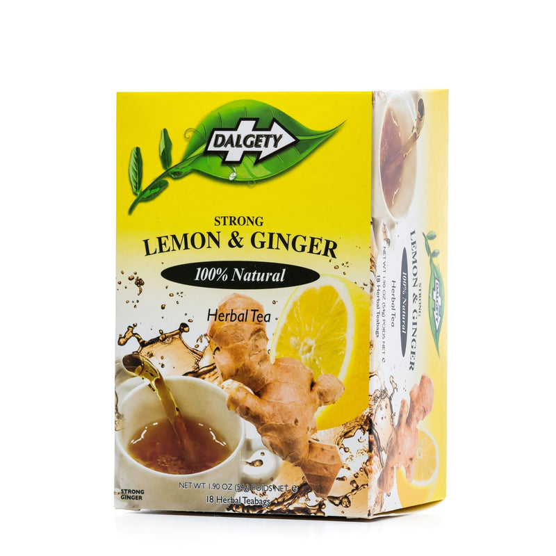 Dalgety Lemon and Ginger Tea 40g