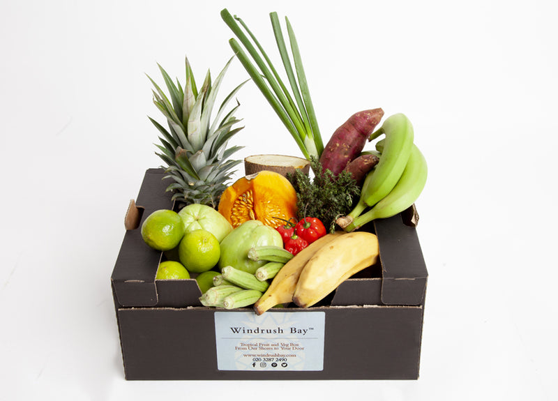 Windrush Bay Tropical Fruit and Veg Box Medium 5kg