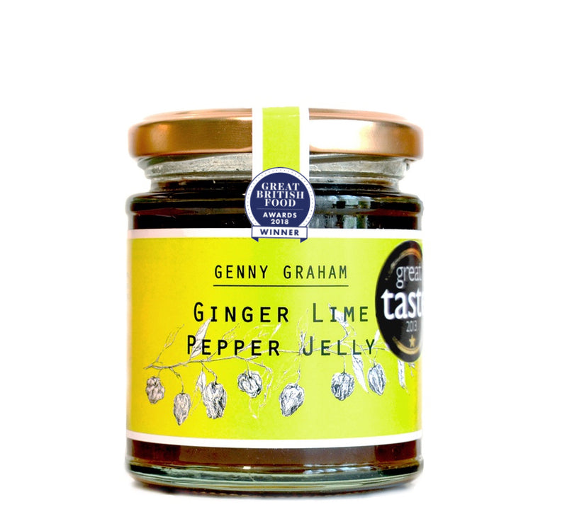 Genny Graham Ginger and Lime Pepper Jelly 225g