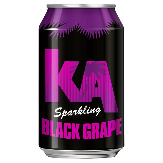 KA Black Grape Can 330ml