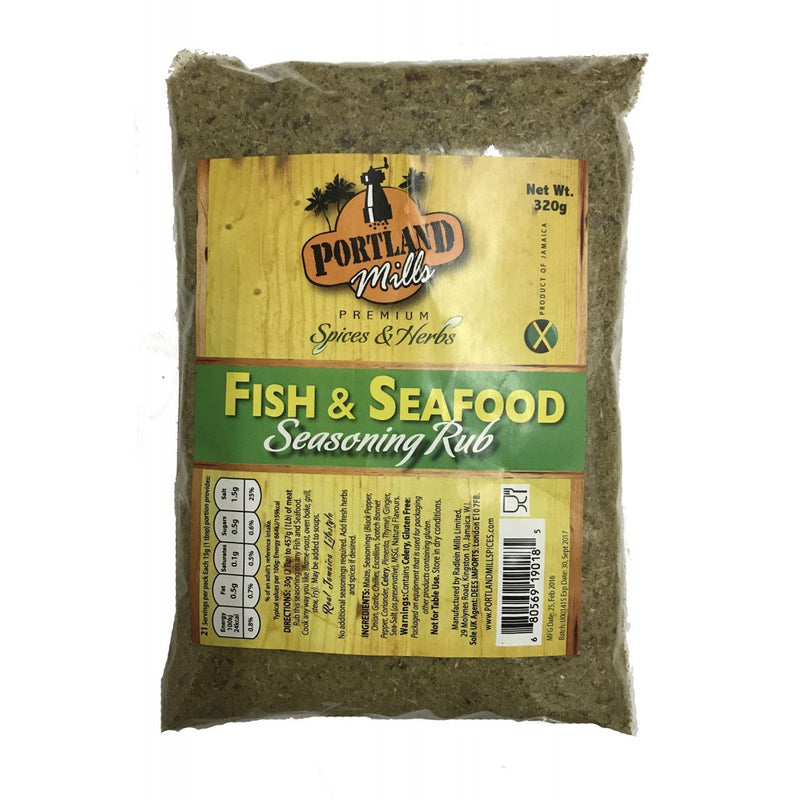 Portland Dry Premium Fish and Seafood Seasoning 290g