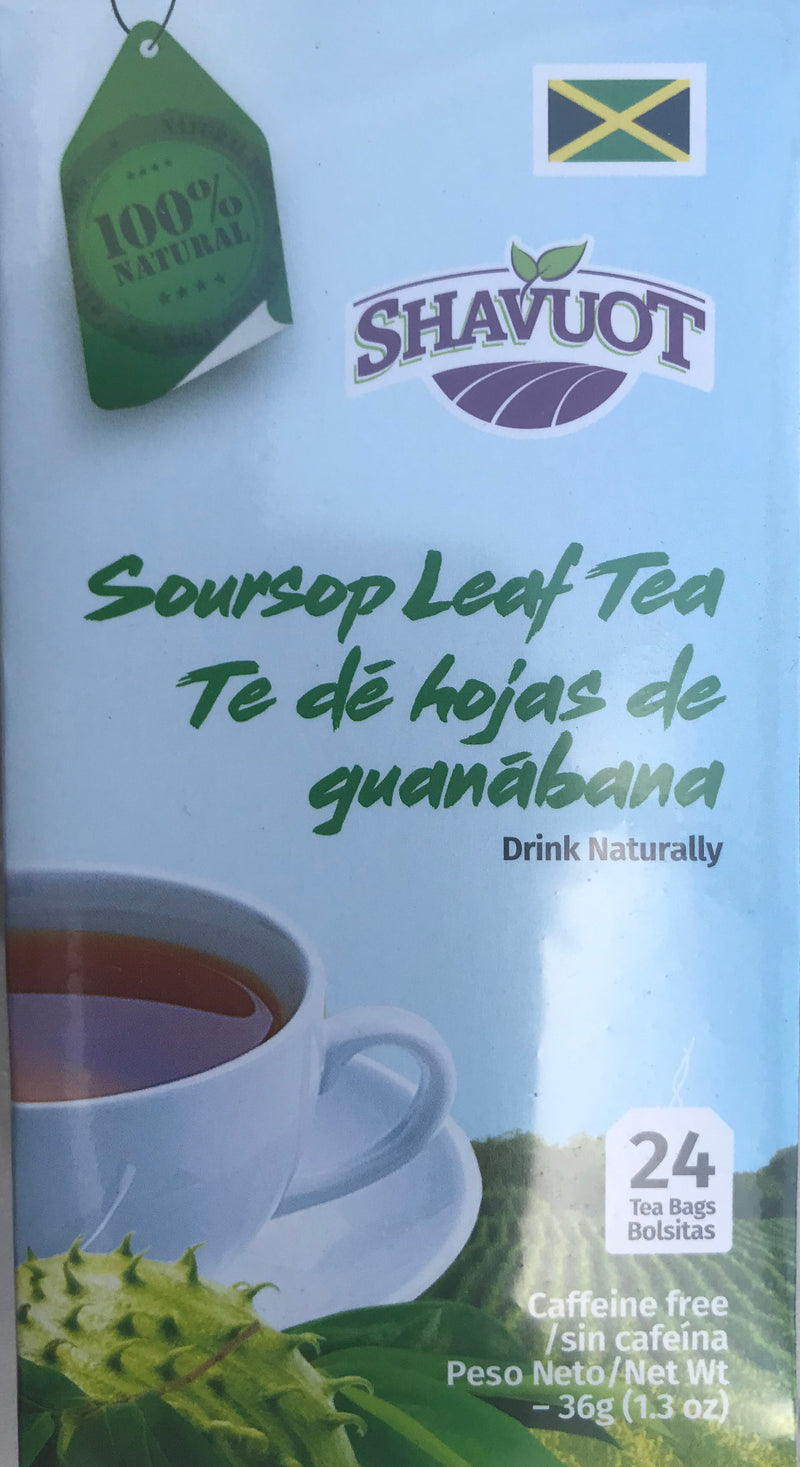 Shavuot Soursop Leaf Tea 36g