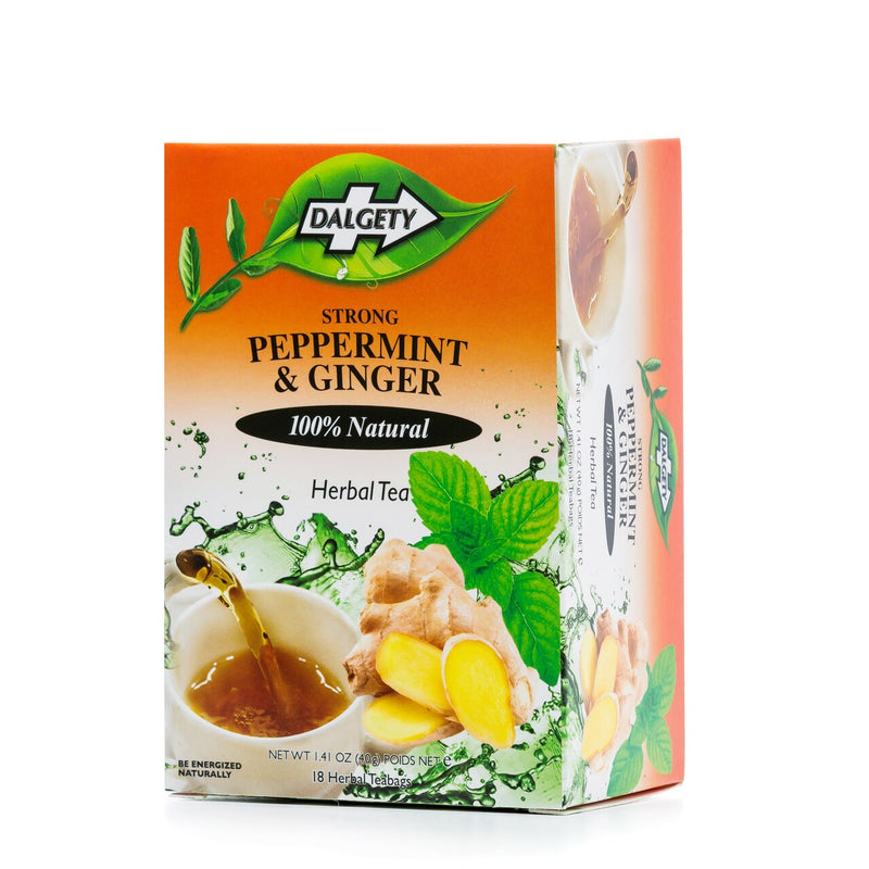 Dalgety Peppermint & Ginger Tea 40g