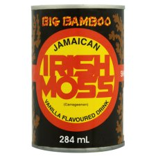 Big Bamboo Irish Moss Vanilla Flavoured Drink 284ml