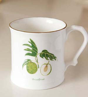 Jenny Mein Bread Fruit Collection Bone China Mug