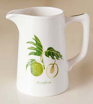 Jenny Mein Breadfruit Collection Bone China Jug