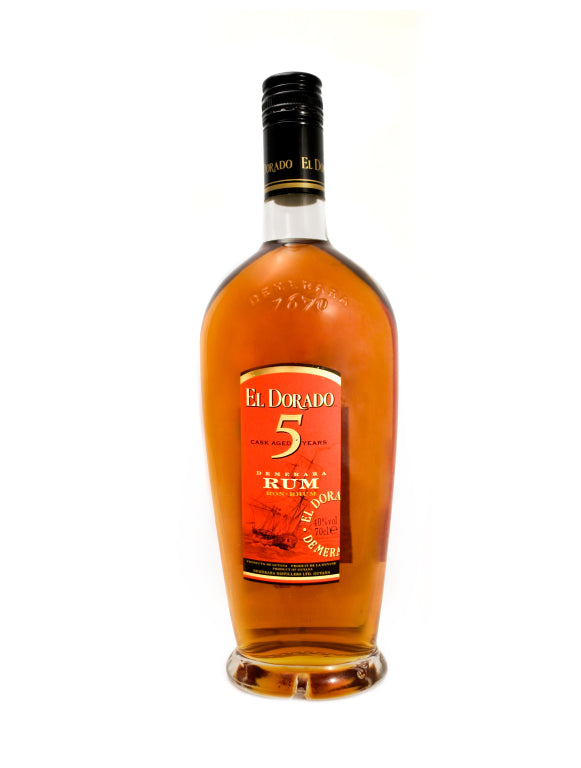 El Dorado 5 Year Old Rum 70cl