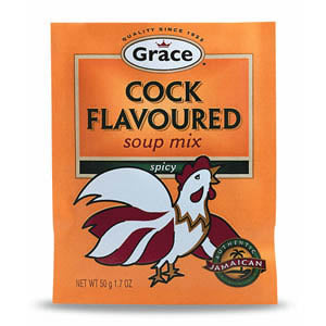Grace Cock Flavoured Spicy Soup Mix 50g